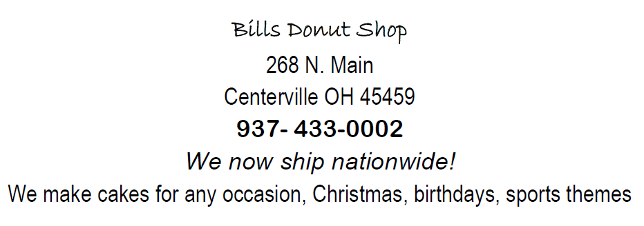 Bills donut Shop