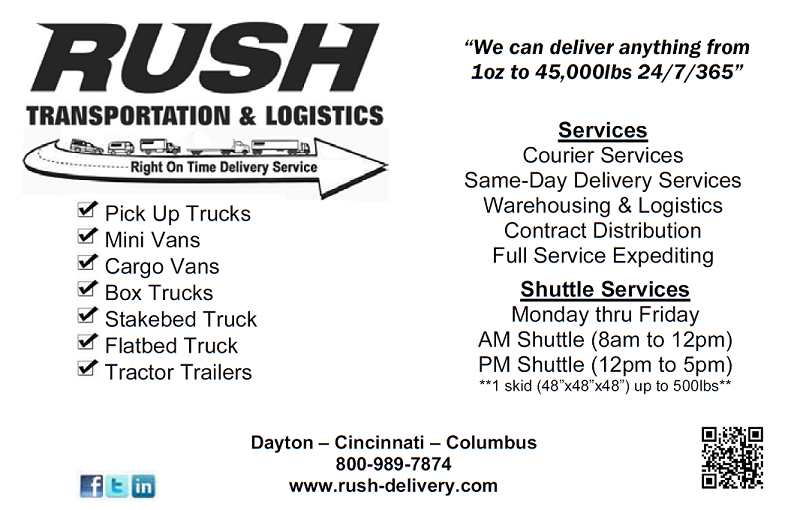 rush transporttation logistics